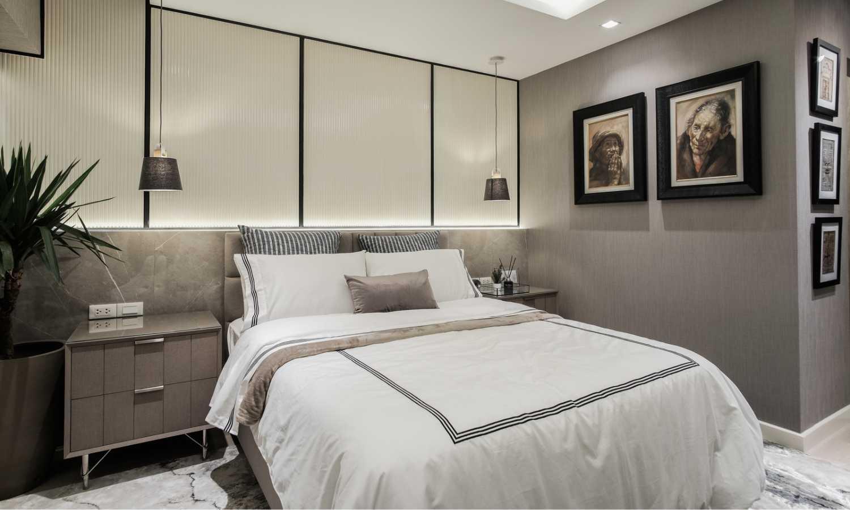 Royalton Project bedroom by VRSO Interiors